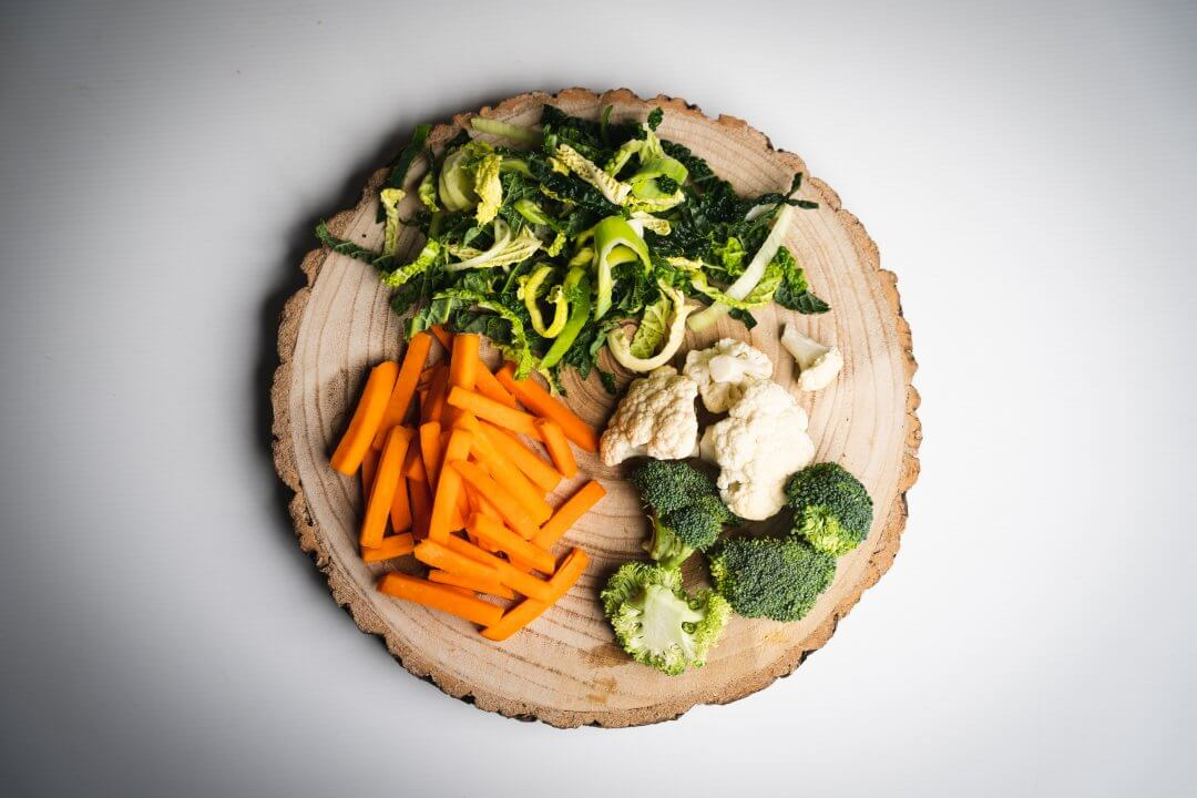 World Health Day - Vegetables on Plate